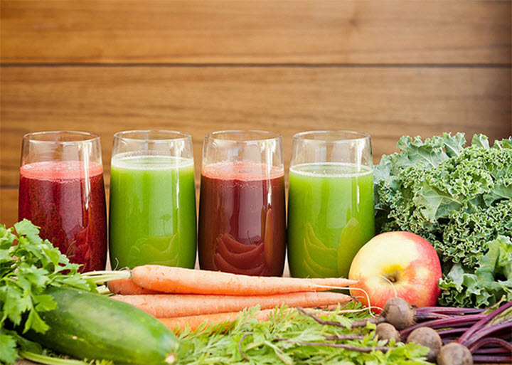 Овощные соки и давление