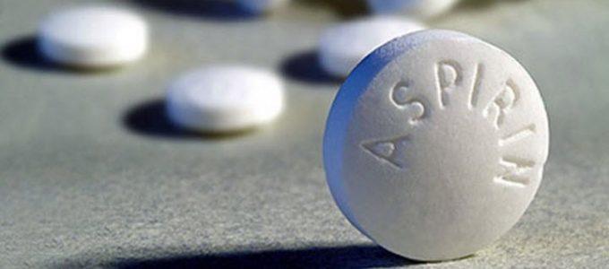 Аспирин при давлении