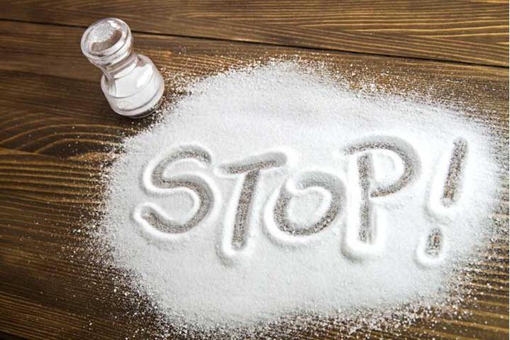 Уменьшение употребление соли