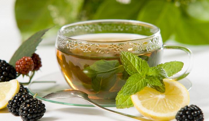 Травяные чаи в бане