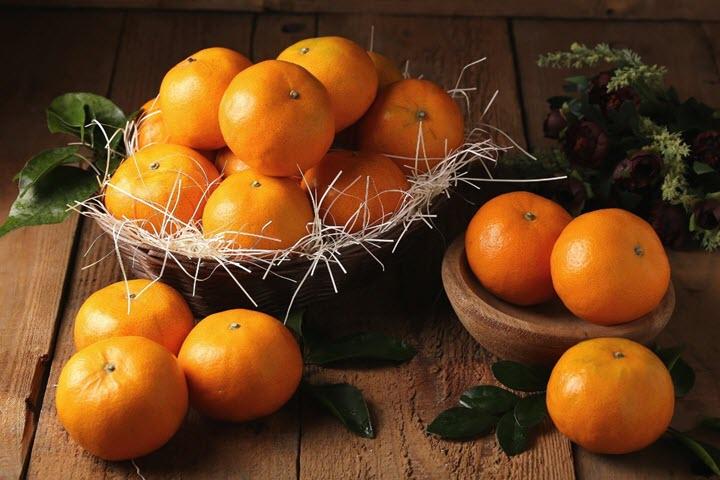 Мандарины - вкусный витамин С