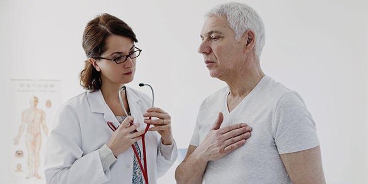 Колющая боль в груди