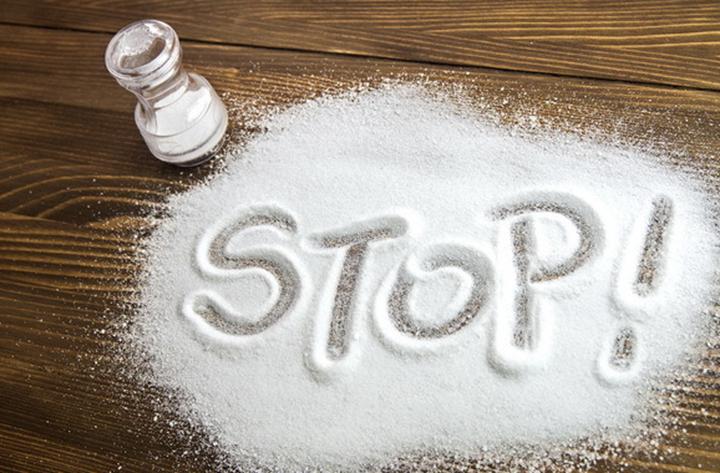 Большое потребление соли