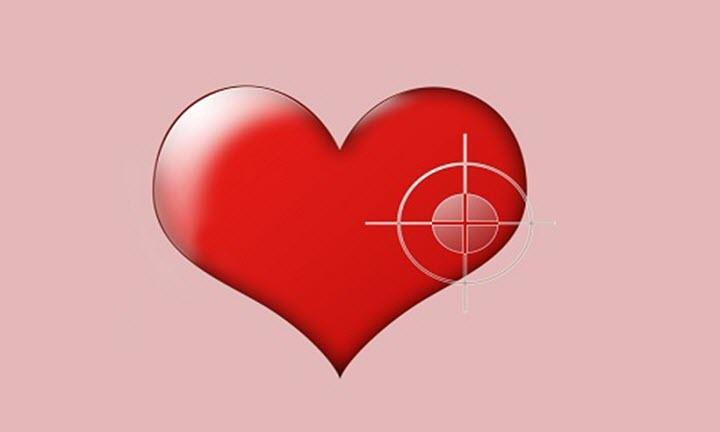 Сердце-мишень