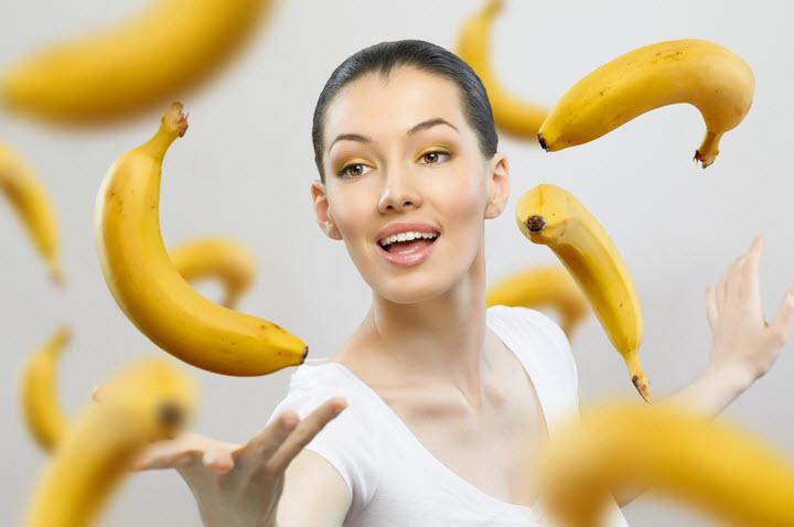 Бананы - источник калия