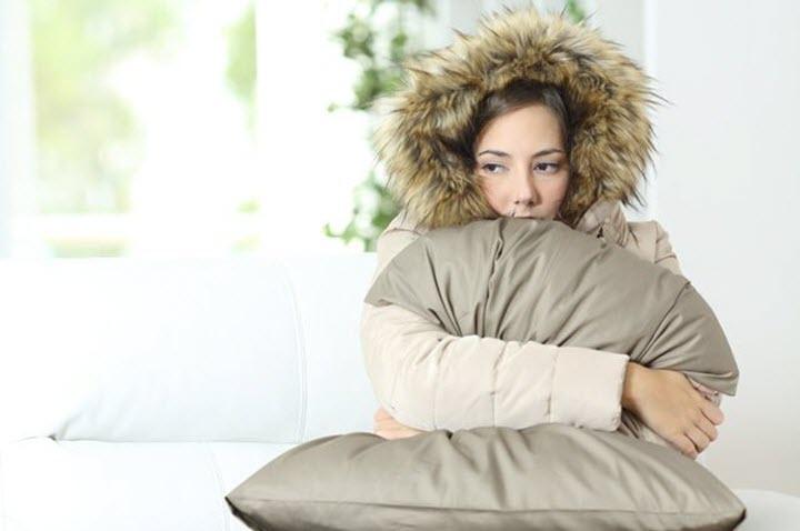 Повышение температуры и озноб