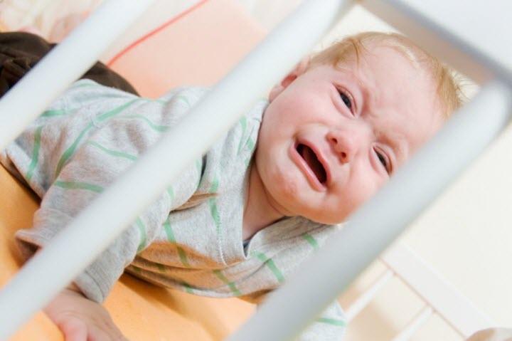 Беспокойство и плач при высоком ВЧД