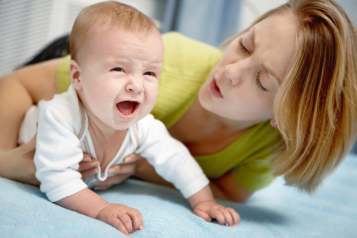 Ребенок плохо спит и плачет