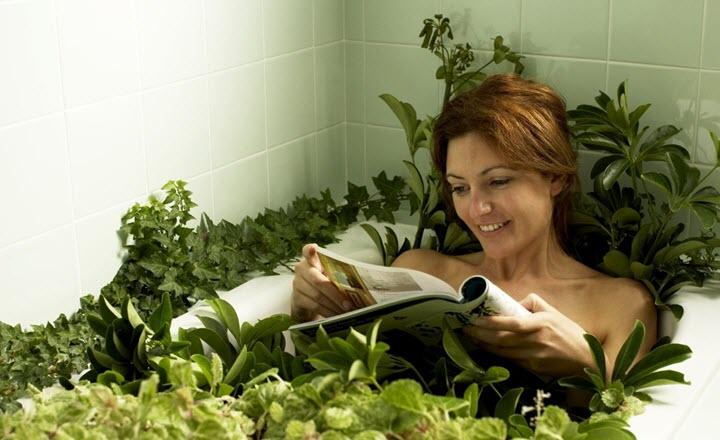Травяные ванны при варикозе