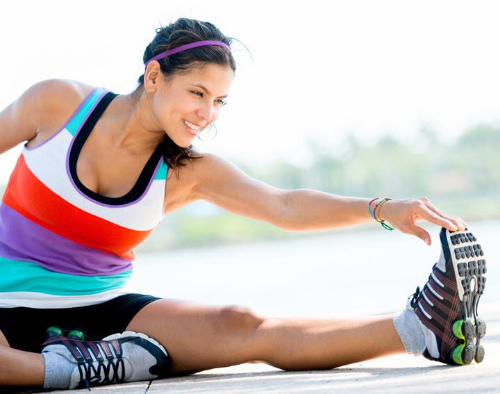 Выполнение специальных упражнений