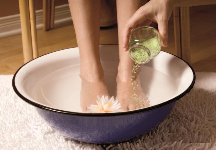 Профилактические ванночки для ног