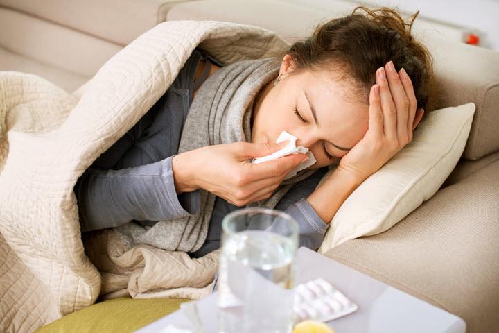 Простуда как возможная причина