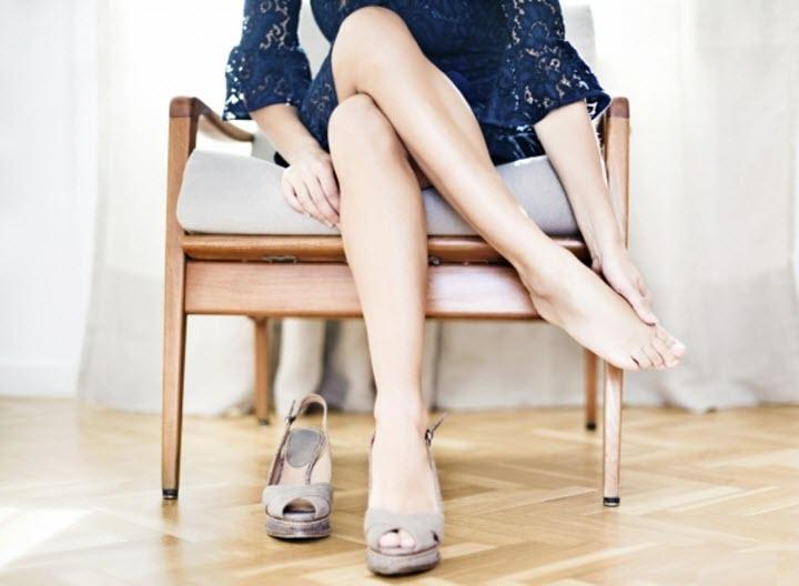 Не сидеть нога на ногу