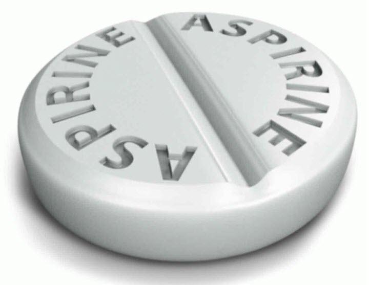 Таблетка аспирина