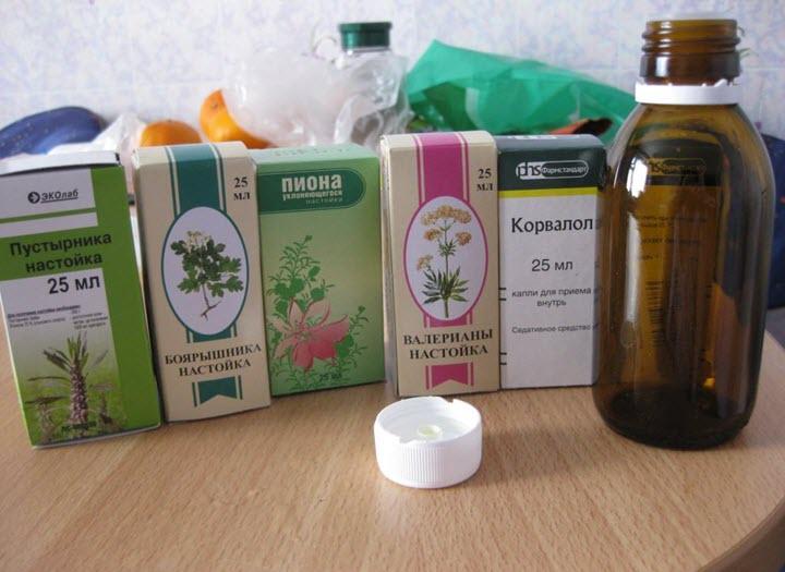 Настойки при тахикардии