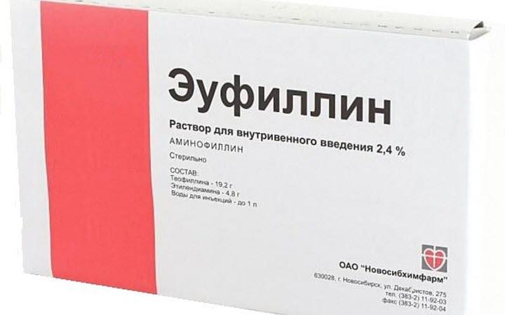 Эуфиллин для инъекций