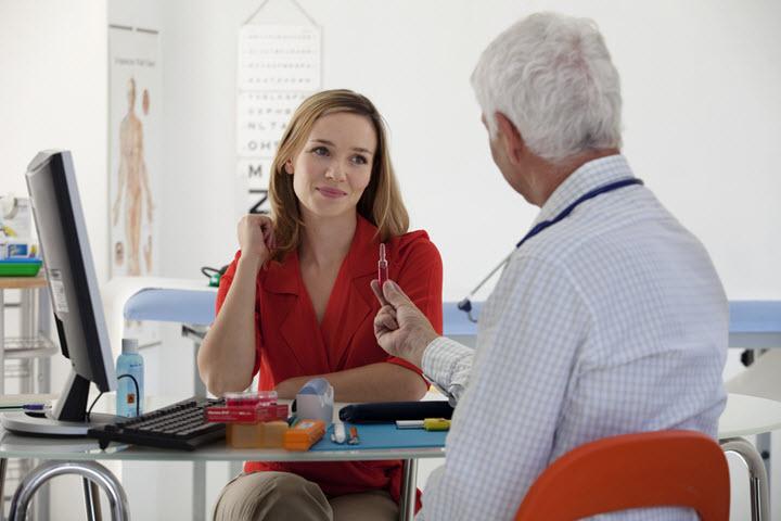 Врачебная консультация при анемии