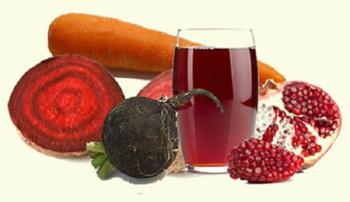Овощные соки при недостатке железа