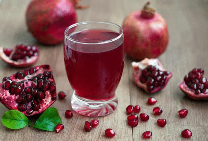 Гранатовый сок при анемии