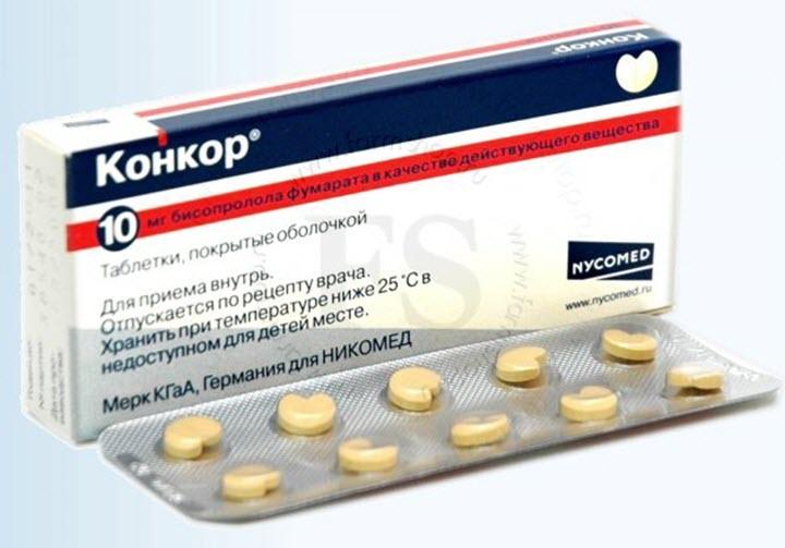 Таблетки Конкор