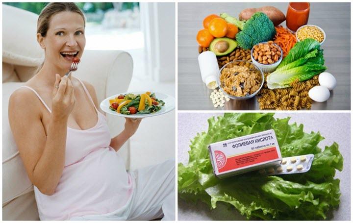 Витаминные продукты для беременных