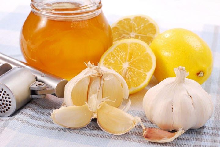 Чеснок и лимон для сосудов