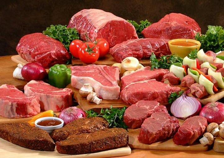 Мясо при низком гемоглобине