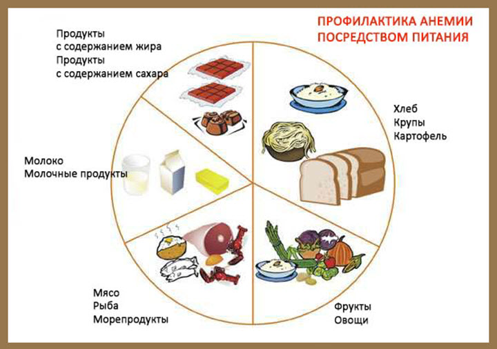 Правильное питание при анемии