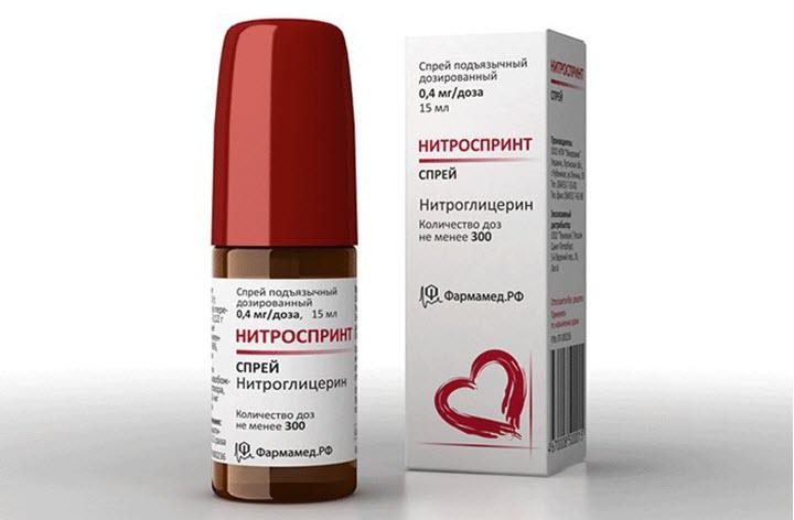 Спрей Нитроглицерин