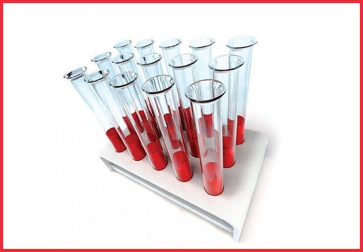 Пробирки с кровью