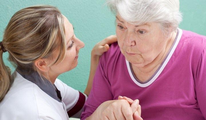 Помощь пожилым больным